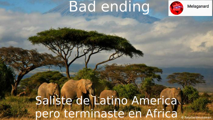 Hice tarde un meme de Latino America pero era lo unico que se me ocurrio