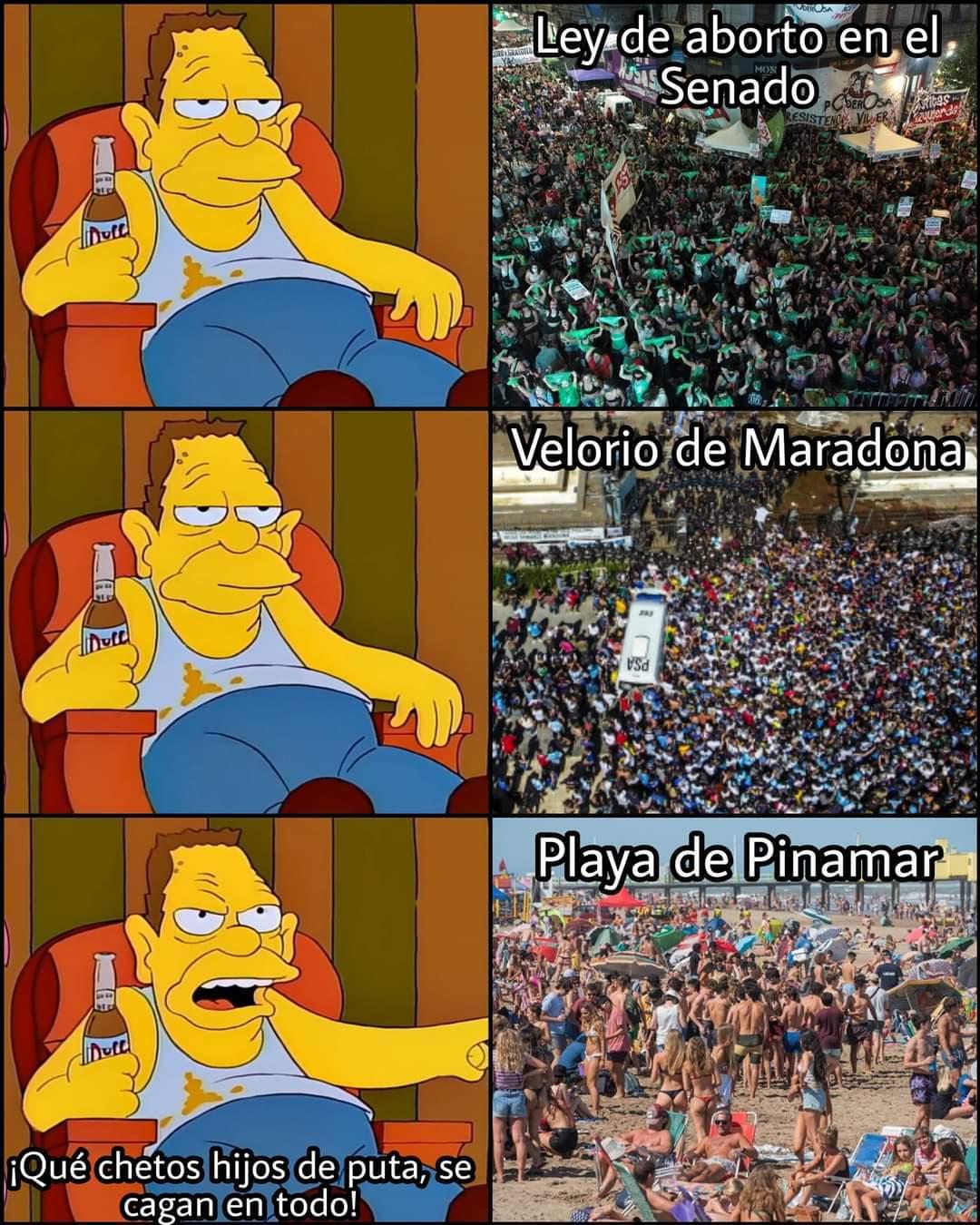Peronista be like - meme