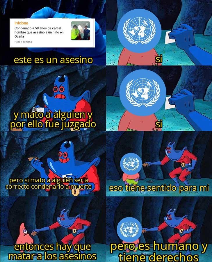 Logica de la ONU - meme