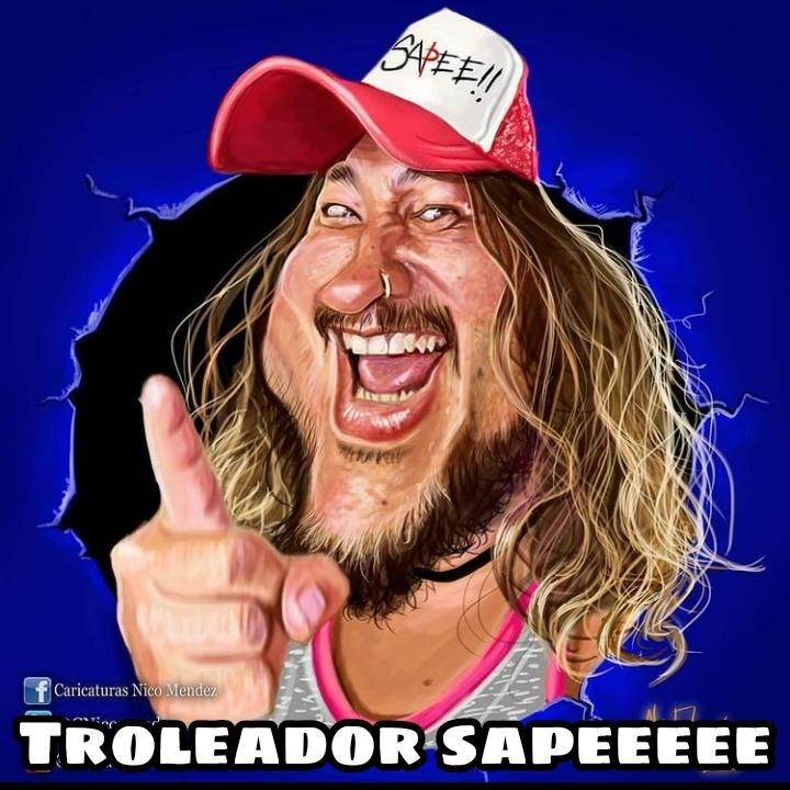 Troleador sape - meme