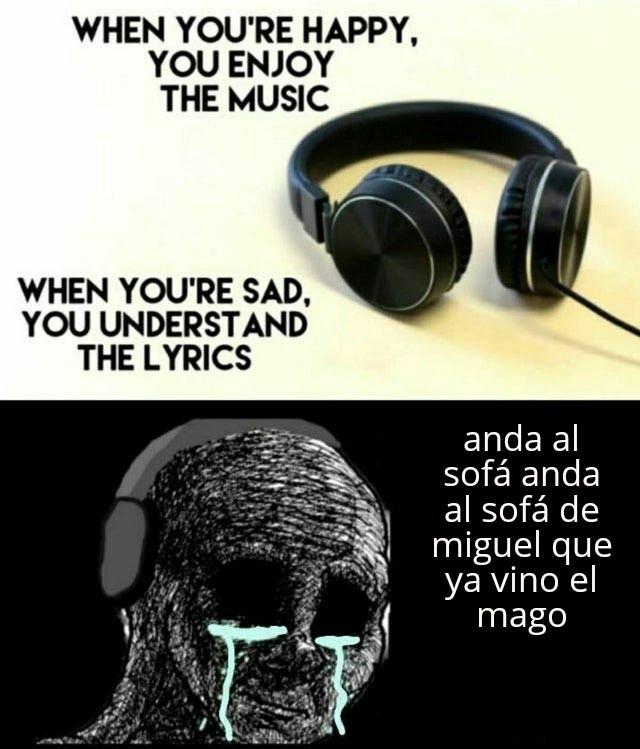 Linkin park nombre de la música In The End - meme
