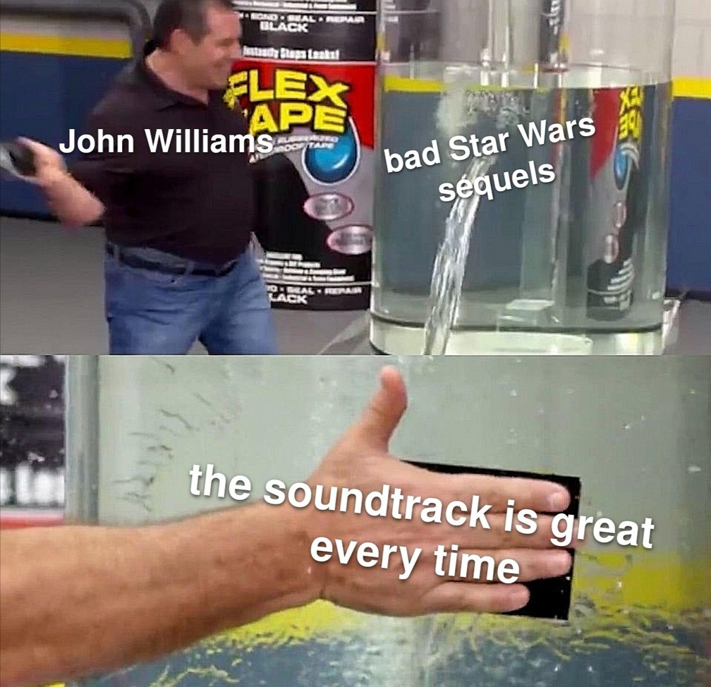 John Williams appreciation post - meme
