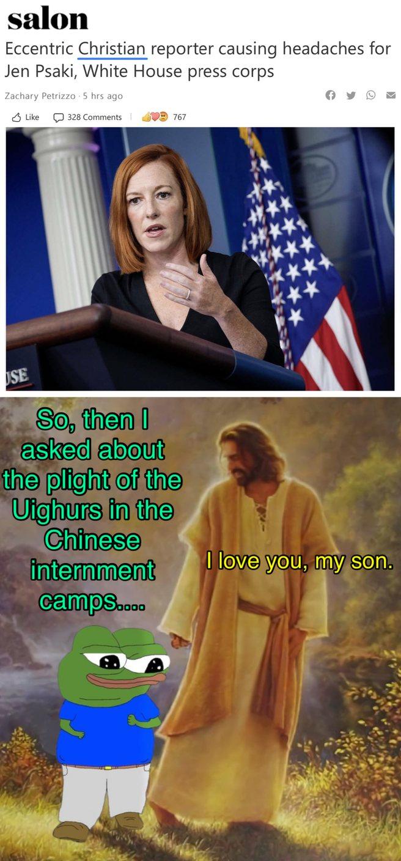 They Hate Jesus - meme