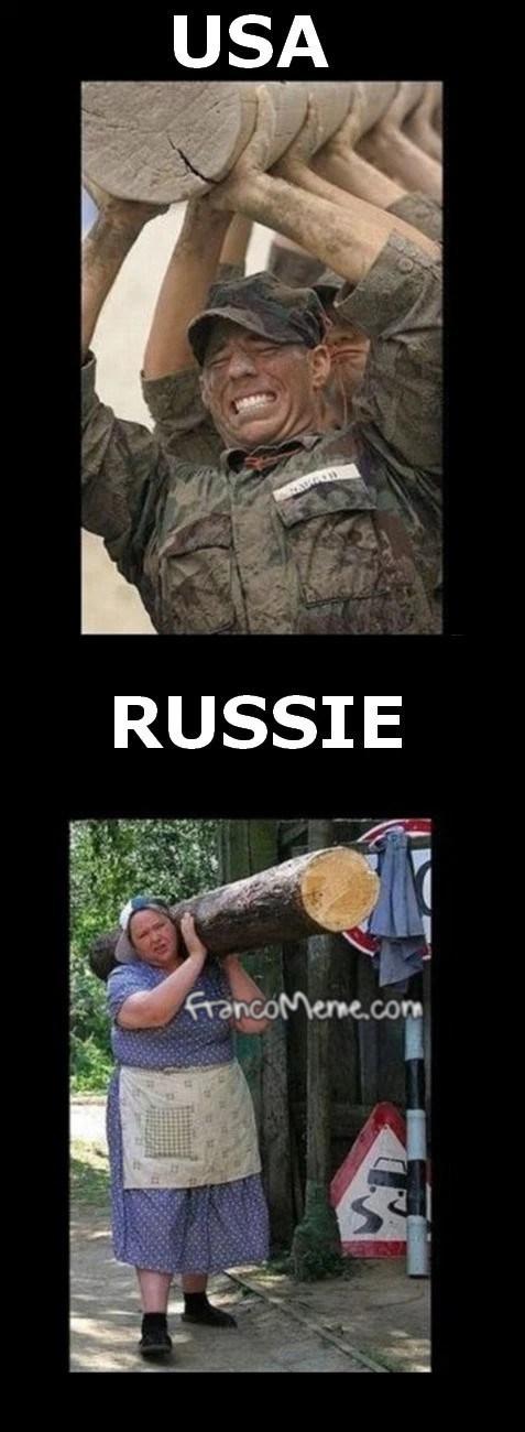 La mère a Poutine - meme