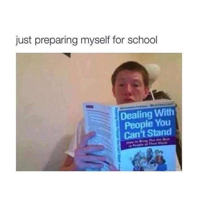 #BackToSchool - meme