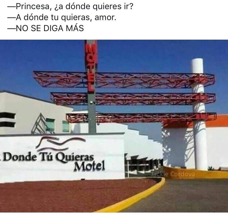 Motel definitivo - meme