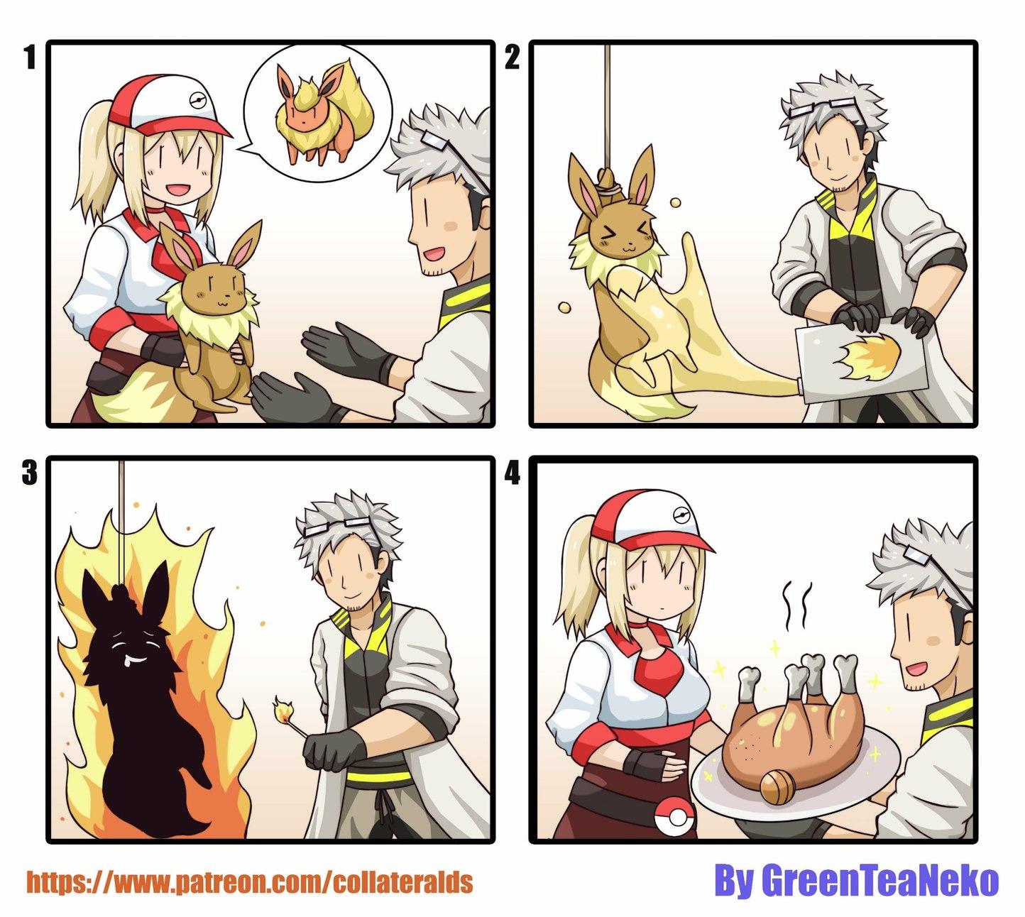 E é assim q evolui seus pokémons - meme