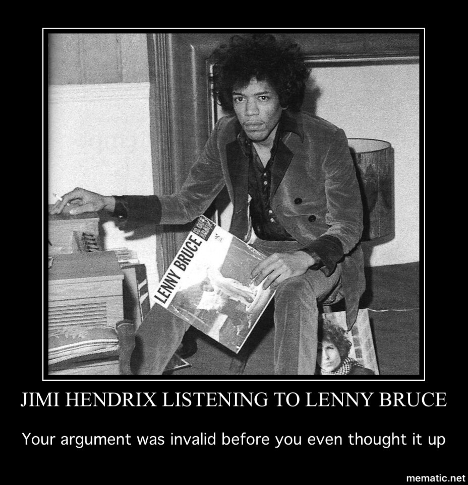 Jimi is the man! - meme