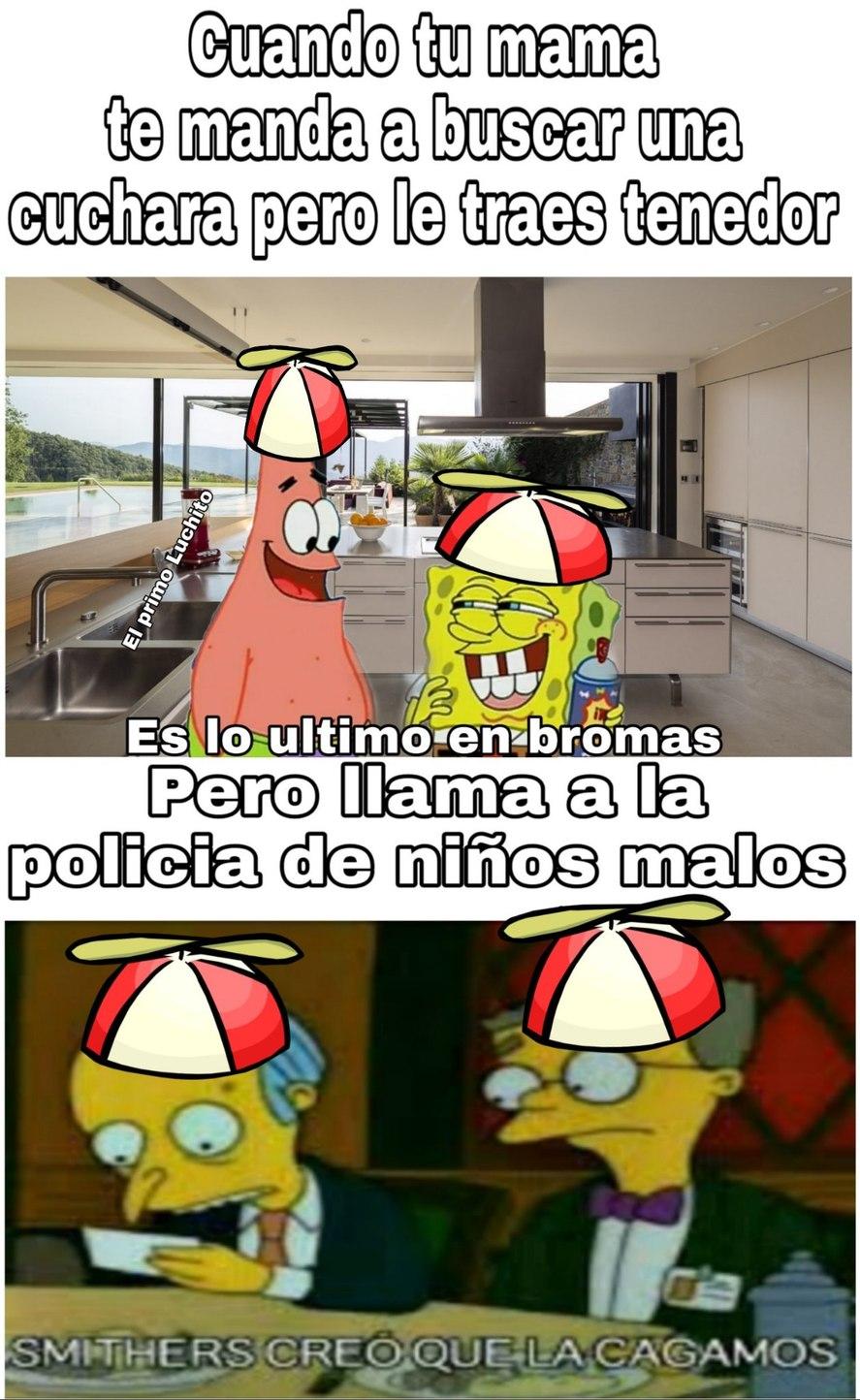 Cabrochicos malulos - meme