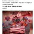 Fortnite cancer