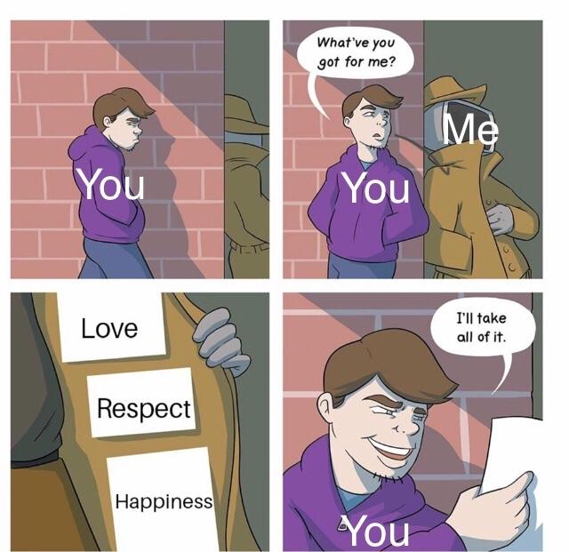 I love you - meme