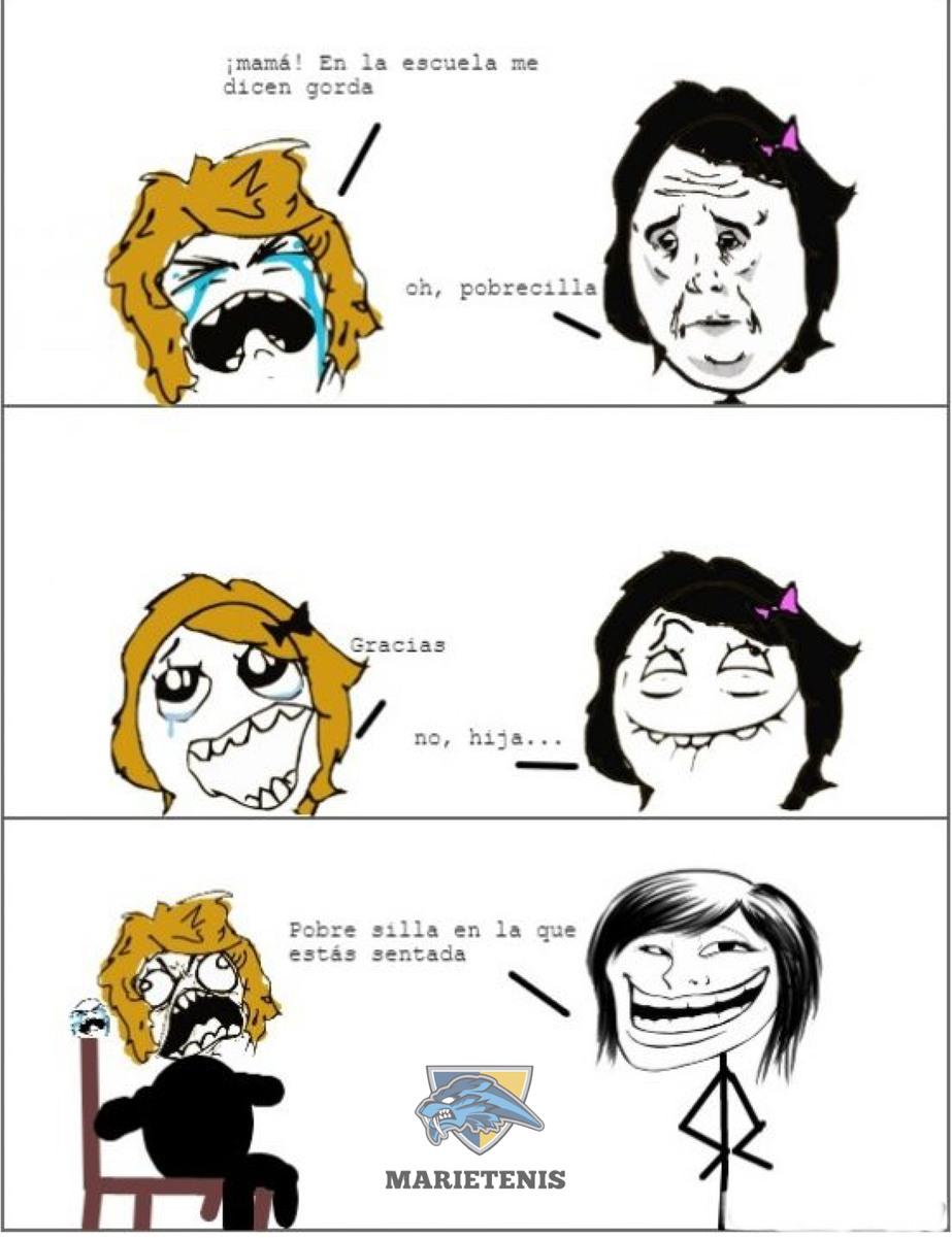 Cuando tu madre te trolea - meme