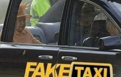 Fake Queen - meme