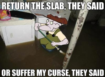 Dont return the slab - meme