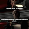 You are on this council but we do not grant you the rank of master