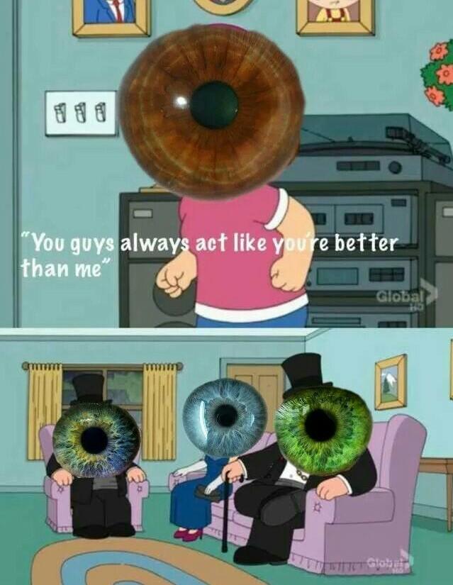 Verde é melhor mesmo - meme