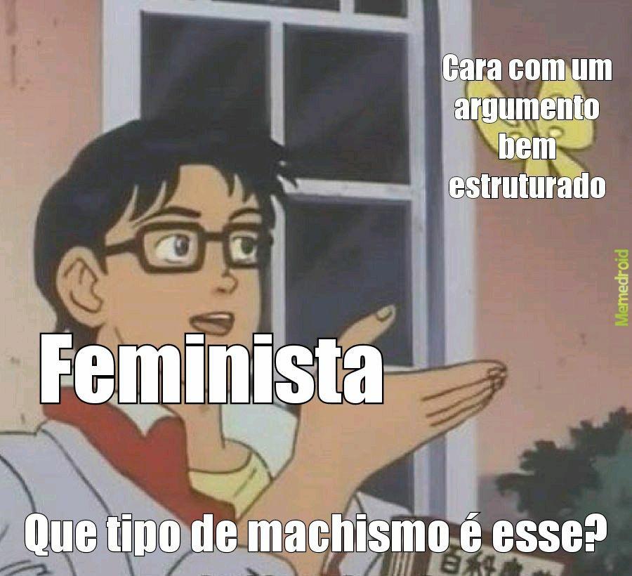 Feminista fdp - meme