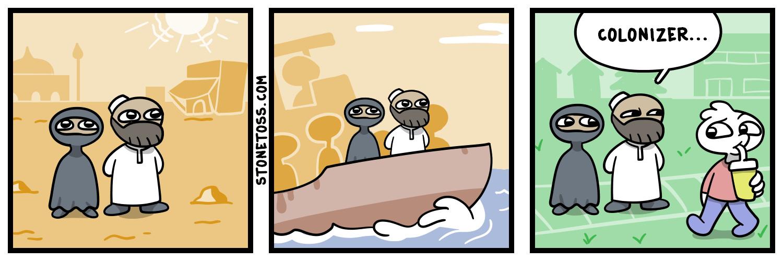 Migrants be like - meme