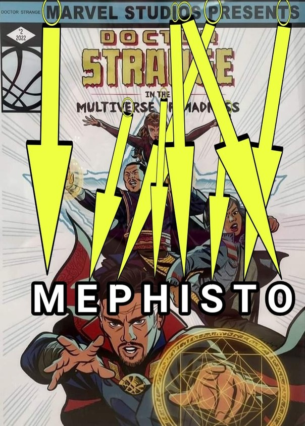 En esta película sí va a salir Mephisto, las señales son claras - meme