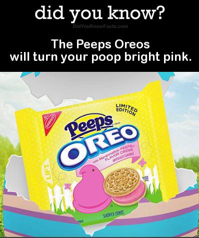 Pink poop - meme