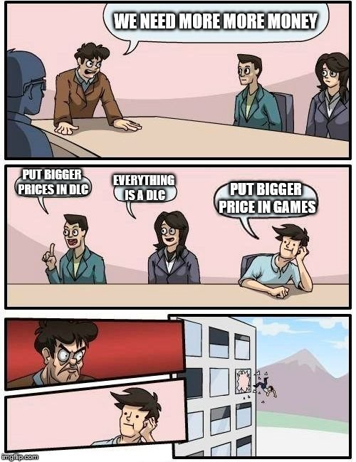 EA business meeting - meme