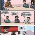 EA business meeting