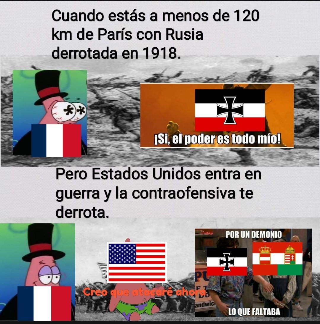 La Gran Guerra (1914-1918) - meme