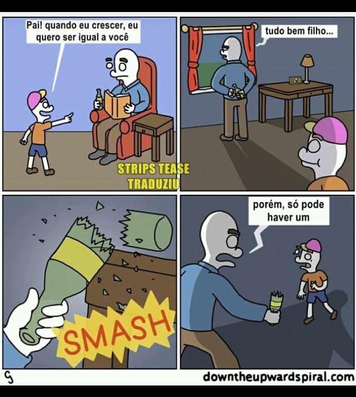 Somente um - meme