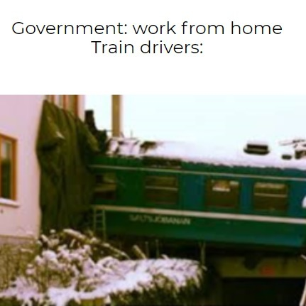 Uhoh train drivvers - meme