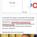 Google financia a wikipedia para que hable bien de el xD