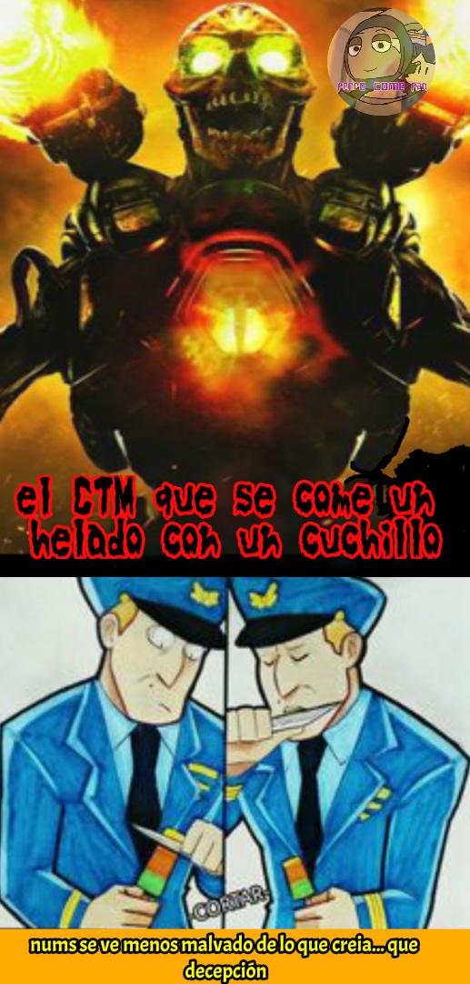 ES UN PSICOPATA - meme