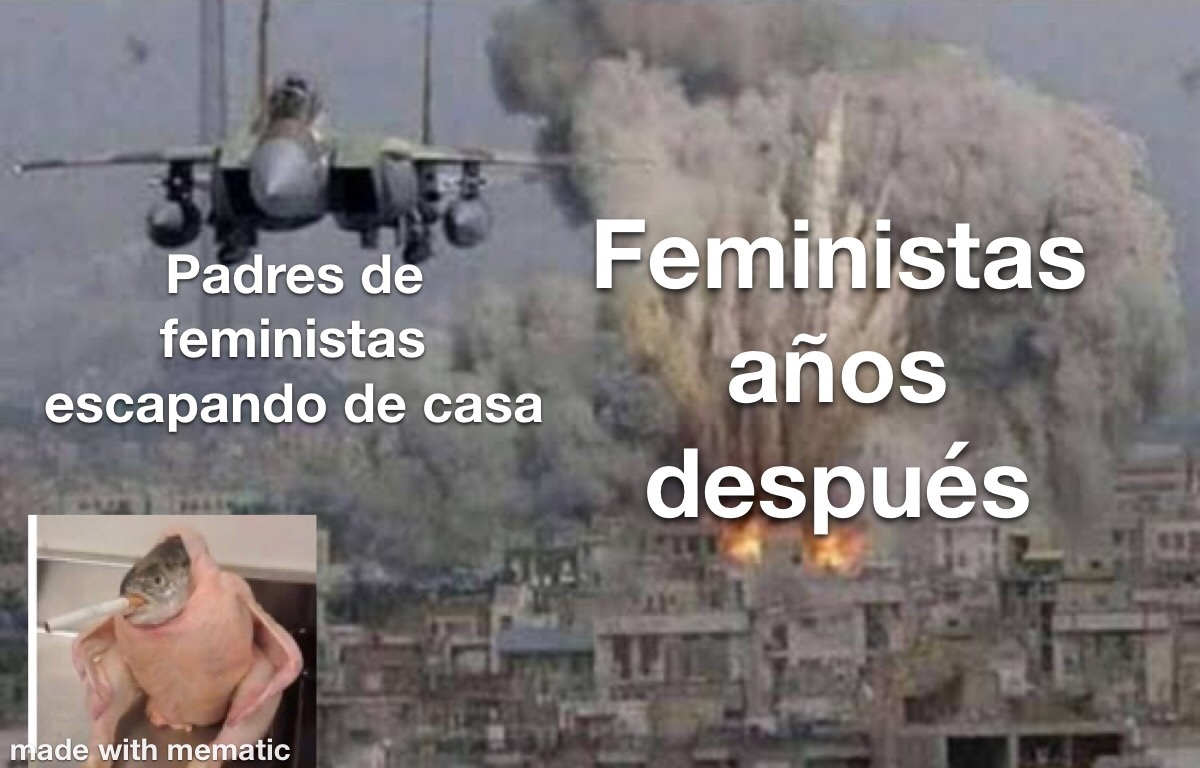 se salvaron, y arruinaron la infancia de muchas feministas, todos un kpos - meme