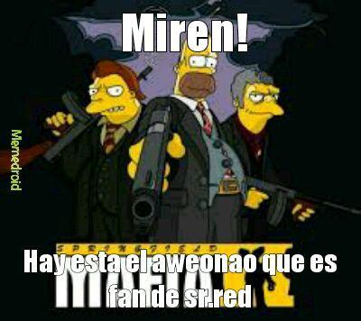 Homero facha - meme