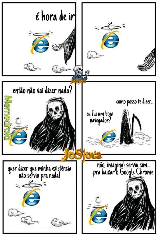 Internet Explorer is dead - meme