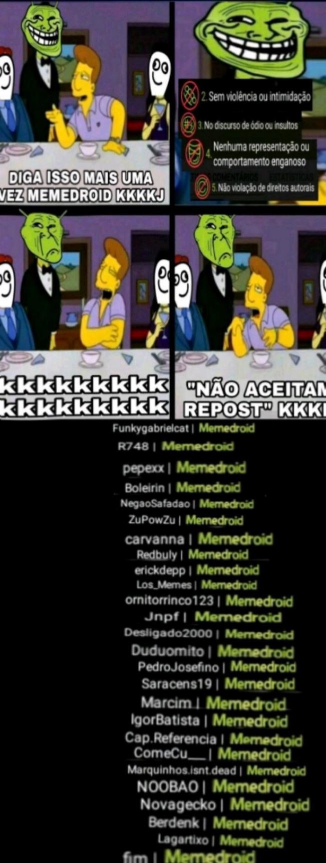um absurdo - meme