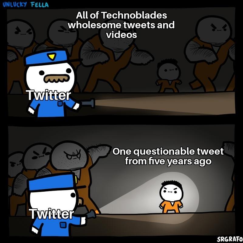 Techno support chain - meme