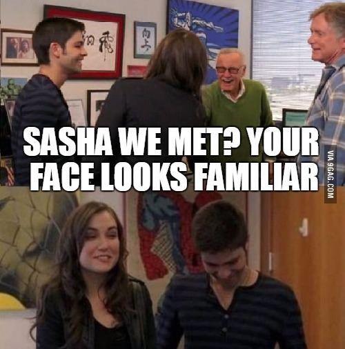 саша у лицо знакомое а вас