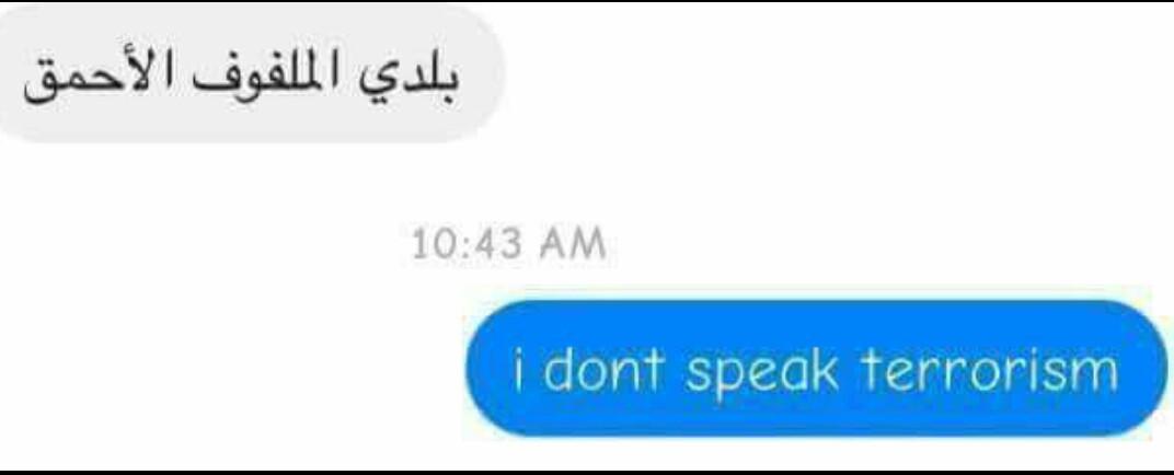 Dialeto terrorista - meme