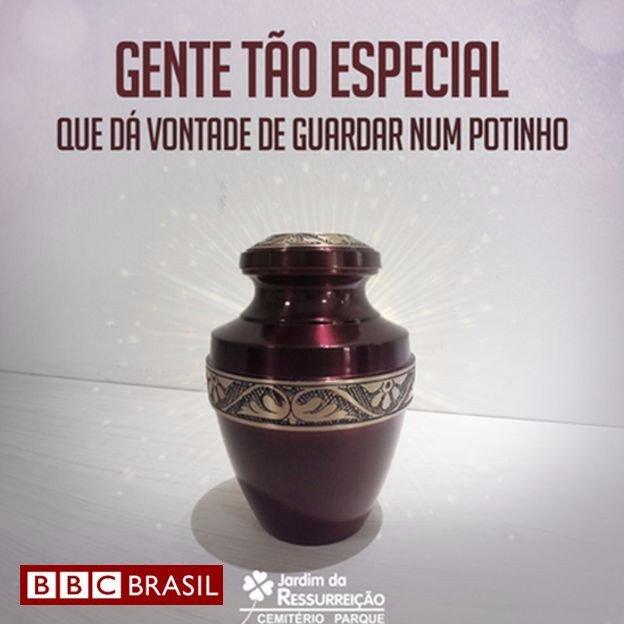 Propaganda de um cemitério no Piauí - meme