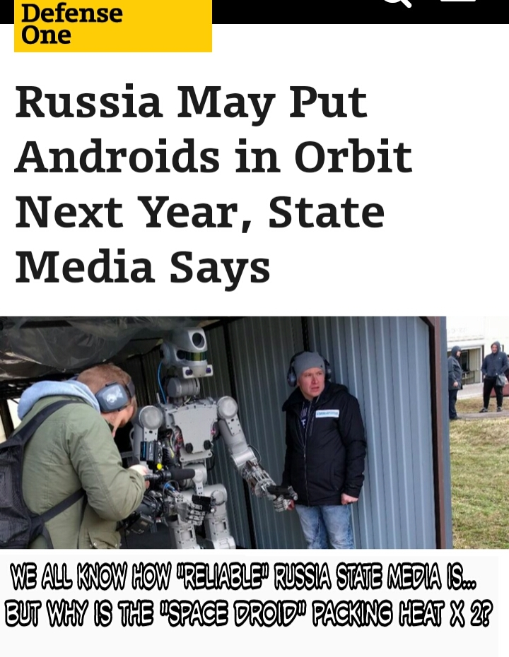 Silly Russia media Old Western Droid pic - meme