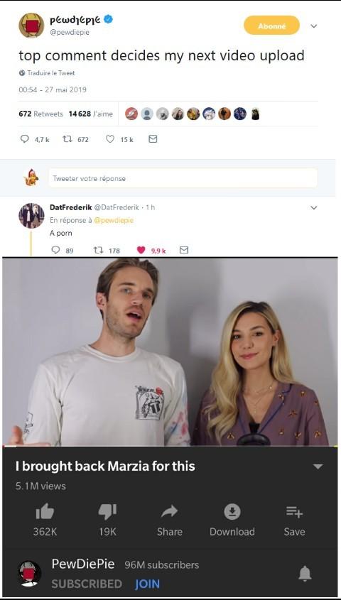 Il l'as dit, il le fait - meme