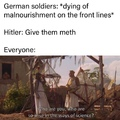 Hitler was actually a great millitary mind, the dunkirk incircelment would never had happend if not for his tactics
