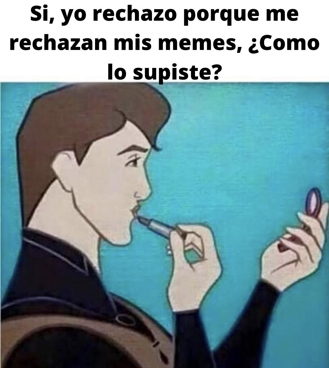 ESE HOMBRE ES JOTO! - meme