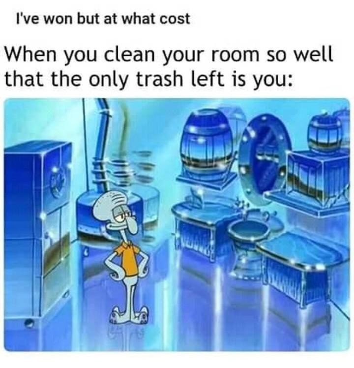 Trash... - meme