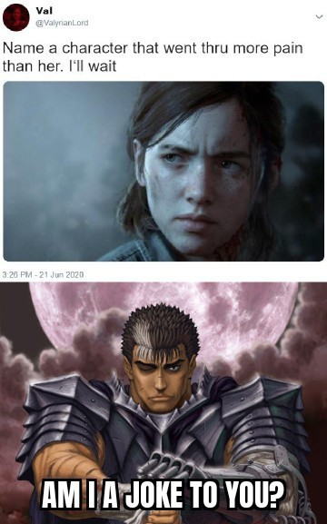 Guts from Berserk - meme