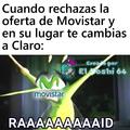 Esos de Movistar que siempre quieren convencerte de cambiarte a Movistar