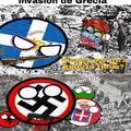 Segundo intento de ocupación de Grecia, comenzaré a subir memes de countryballs, 100% original mio