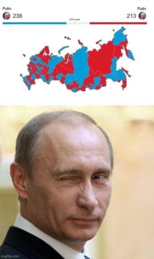 Putin vs. Putout - meme