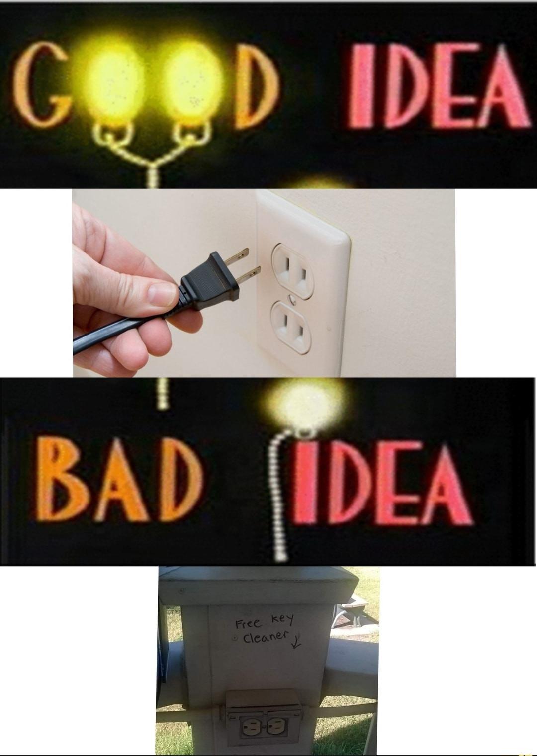 Good Idea Bad Idea - meme