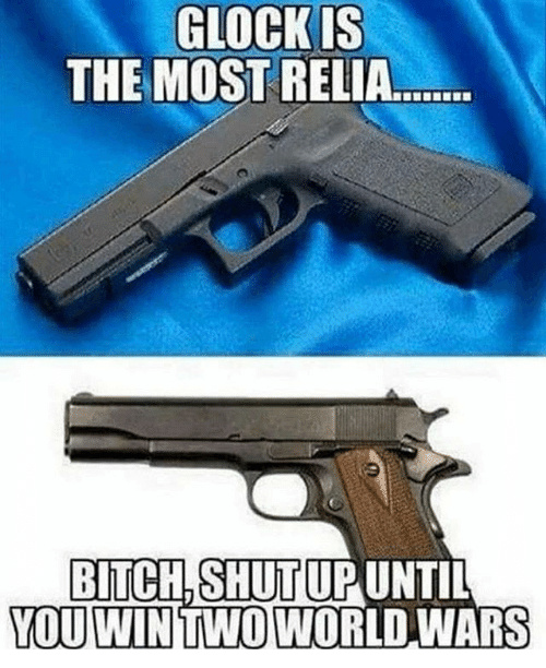 1911 tried and true - meme